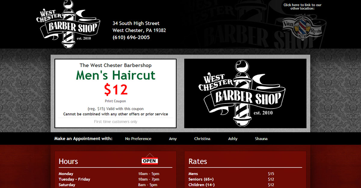The West Chester Barbershop West Chester Pa